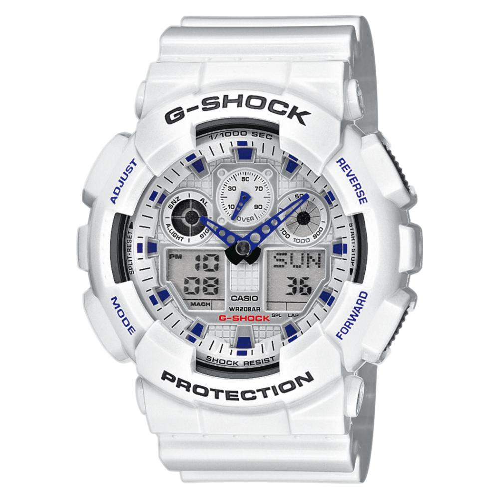 Casio G-shock Basic GA100A7A 1