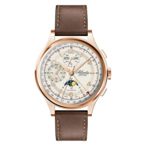 Atlantic Worldmaster Chronograph Moonphase 55851.44.25 - zegarek męski