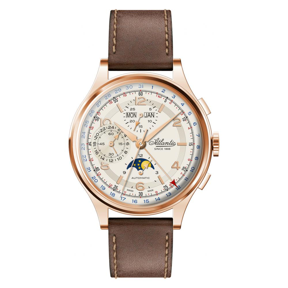 Atlantic Worldmaster Chronograph Moonphase 55851.44.25 - zegarek męski 1