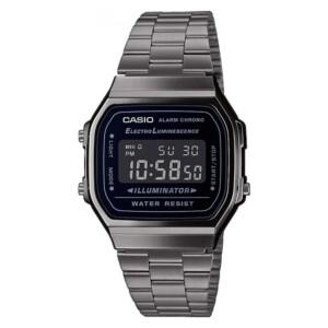 Casio Retro A168WEGG-1B - zegarek męski