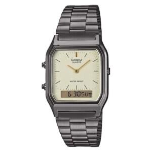 Casio Retro AQ-230EGG-9A - zegarek damski