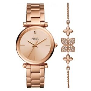Fossil Carlie ES4685SET - zegarek damski