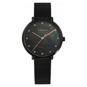 Obaku Vest V186LXBBMB1 - zegarek damski