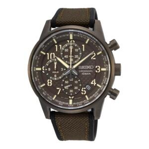 Seiko Chronograph SSB371P1 - zegarek męski