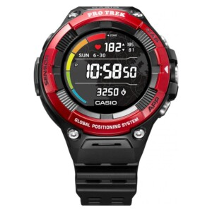 Casio Pro Trek WSD-F21HR-RDBGE - zegarek męski