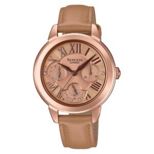 Casio Sheen SHE-3059PGL-5A - zegarek damski