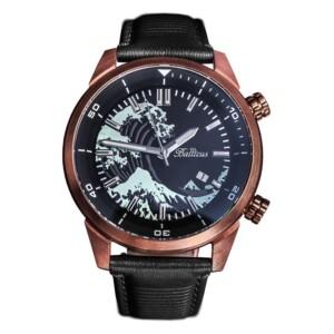 Balticus Fala Brąz BAFABR - zegarek męski