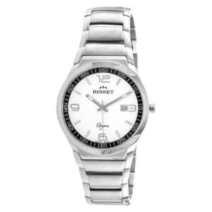 Bisset Elegance New BSDC86SMWX03BX - zegarek męski