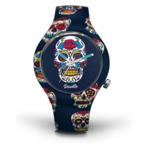 Doodle Calaveras Mood DOCA005 - zegarek męski