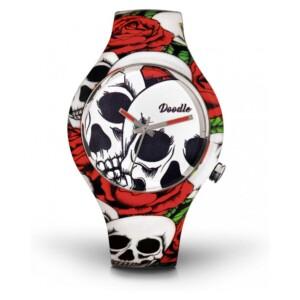 Doodle Skull Mood DOSK001 - zegarek damski