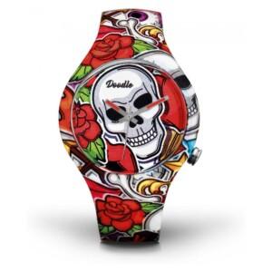 Doodle Skull Mood DOSK003 - zegarek damski