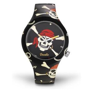 Doodle Skull Mood DOSK004 - zegarek męski
