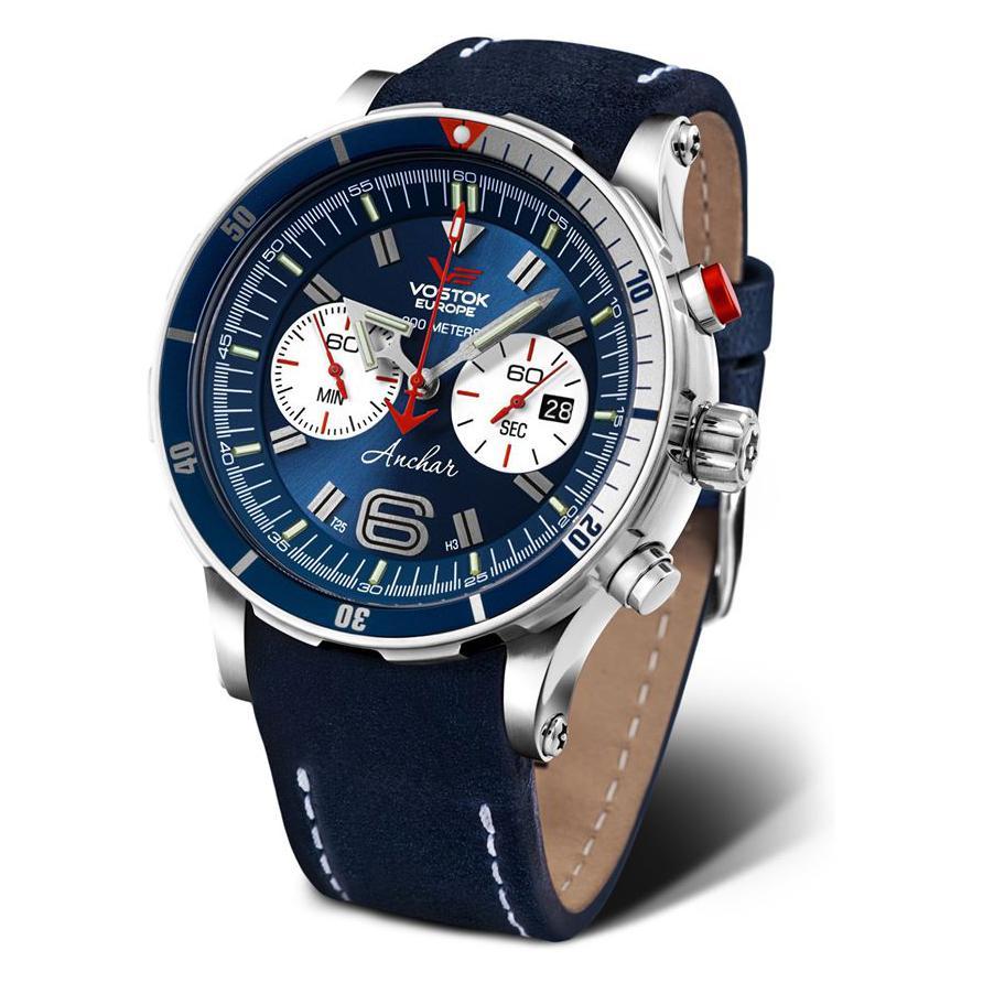 Vostok Europe Anchar Chrono Limited 6S21-510A583 - zegarek męski 1