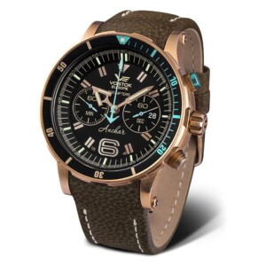 Vostok Europe Anchar Chrono Limited 6S21-510O585 - zegarek męski