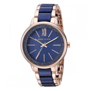 Anne Klein Rose Gold AK1412RGNV - zegarek damski