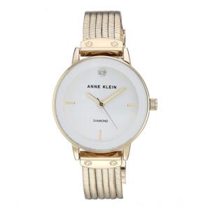 Anne Klein Diamond Gold AK3220WTGB - zegarek damski