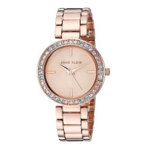 Anne Klein Swarovski Crystal Accented AK3358PMRG - zegarek damski