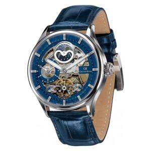 Carl Von Zeyten Automatic Skeleton Neustadt Lahr CVZ0008BL - zegarek męski