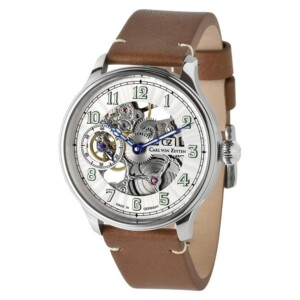 Carl Von Zeyten Automatic Skeleton Zeyten Lahr CVZ0021WH - zegarek męski