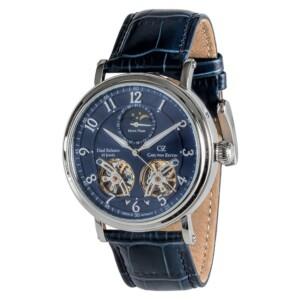 Carl Von Zeyten Automatic Murg Moonphase CVZ0054BL - zegarek męski