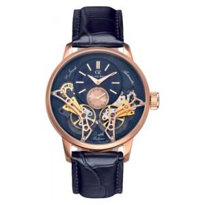 Carl Von Zeyten Automatic Skeleton Oberkirch CVZ0064RBL - zegarek męski