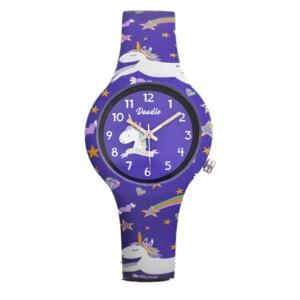 Doodle Doodle Kids Purple Unicorn DO32006 - zegarek