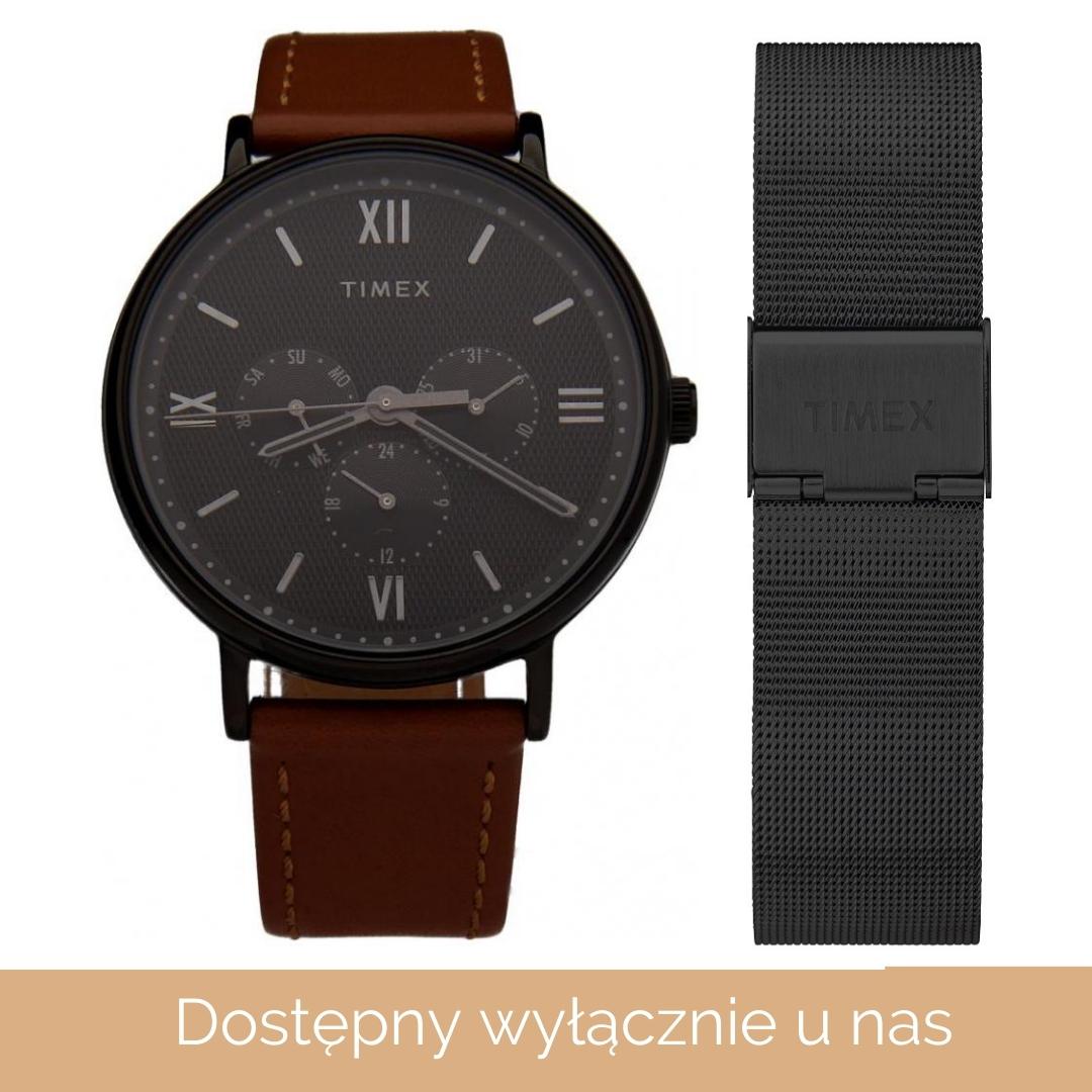 Timex KOLEKCJA SPECJALNA TIMEX dla ZegarkiCentrum.pl TW2T35268PS - zegarek 1