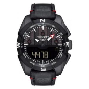 Tissot T-TOUCH EXPERT SOLAR BLACK SWISS EDITION T091.420.46.051.04 - zegarek męski