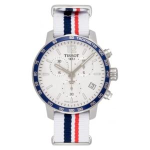 Tissot QUICKSTER NATO CHRONOGRAPH T095.417.17.037.09 - zegarek męski