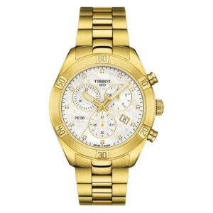 Tissot PR 100 SPORT CHIC CHRONOGRAPH T101.917.33.116.01 - zegarek damski