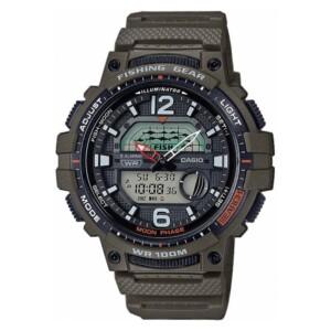 Casio  Sport Fishing Gear Digital Combi WSC-1250H-3A - zegarek męski