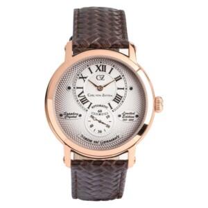 Carl Von Zeyten Automatic Limitowana edycja CVZ0066RWH - zegarek męski