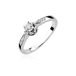 Diamonds Pierścionki z diamentami W291B025B