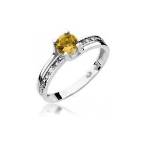 Diamonds Pierścionki z diamentami W106C050B