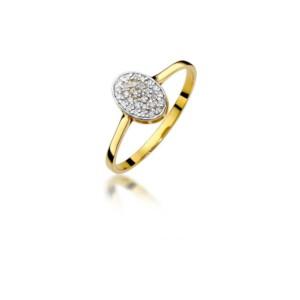Diamonds Pierścionki z diamentami W154B014Z