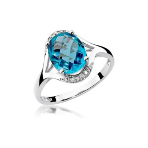 Diamonds Pierścionki z diamentami W150T300B