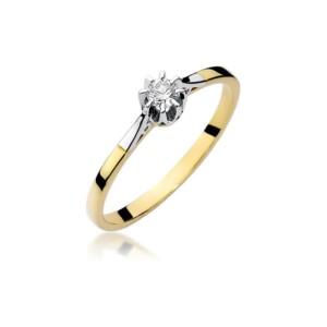 Diamonds Pierścionki z diamentami W209B010Z