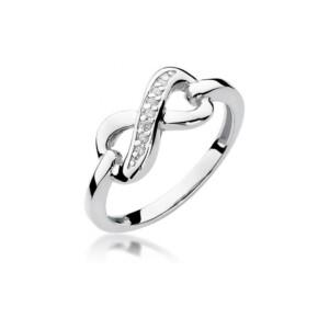 Diamonds Pierścionki z diamentami W285B004B