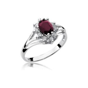 Diamonds Pierścionki z diamentami W37R100B