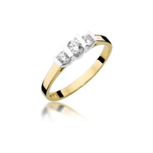 Diamonds Pierścionki z diamentami W338B031Z