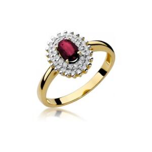 Diamonds Pierścionki z diamentami W303R060Z