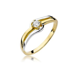 Diamonds Pierścionki z diamentami W255B010Z