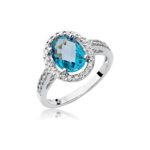 Diamonds Pierścionki z diamentami W80T170B