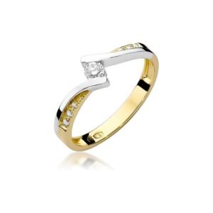 Diamonds Pierścionki z diamentami W177B016Z