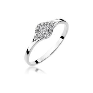 Diamonds Pierścionki z diamentami W56B017B