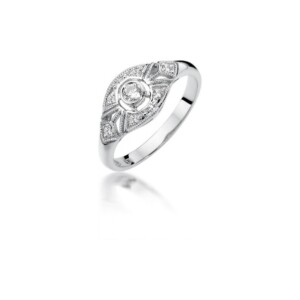 Diamonds Pierścionki W413B019B