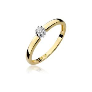 Diamonds Pierścionki z diamentami W128B010Z