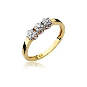 Diamonds Pierścionki z diamentami W104B012Z