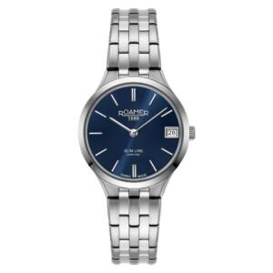 Roamer Slim-Line Classic 512857 41 45 20 - zegarek damski