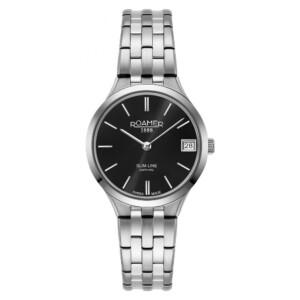 Roamer Slim-Line Classic 512857 41 55 20 - zegarek damski